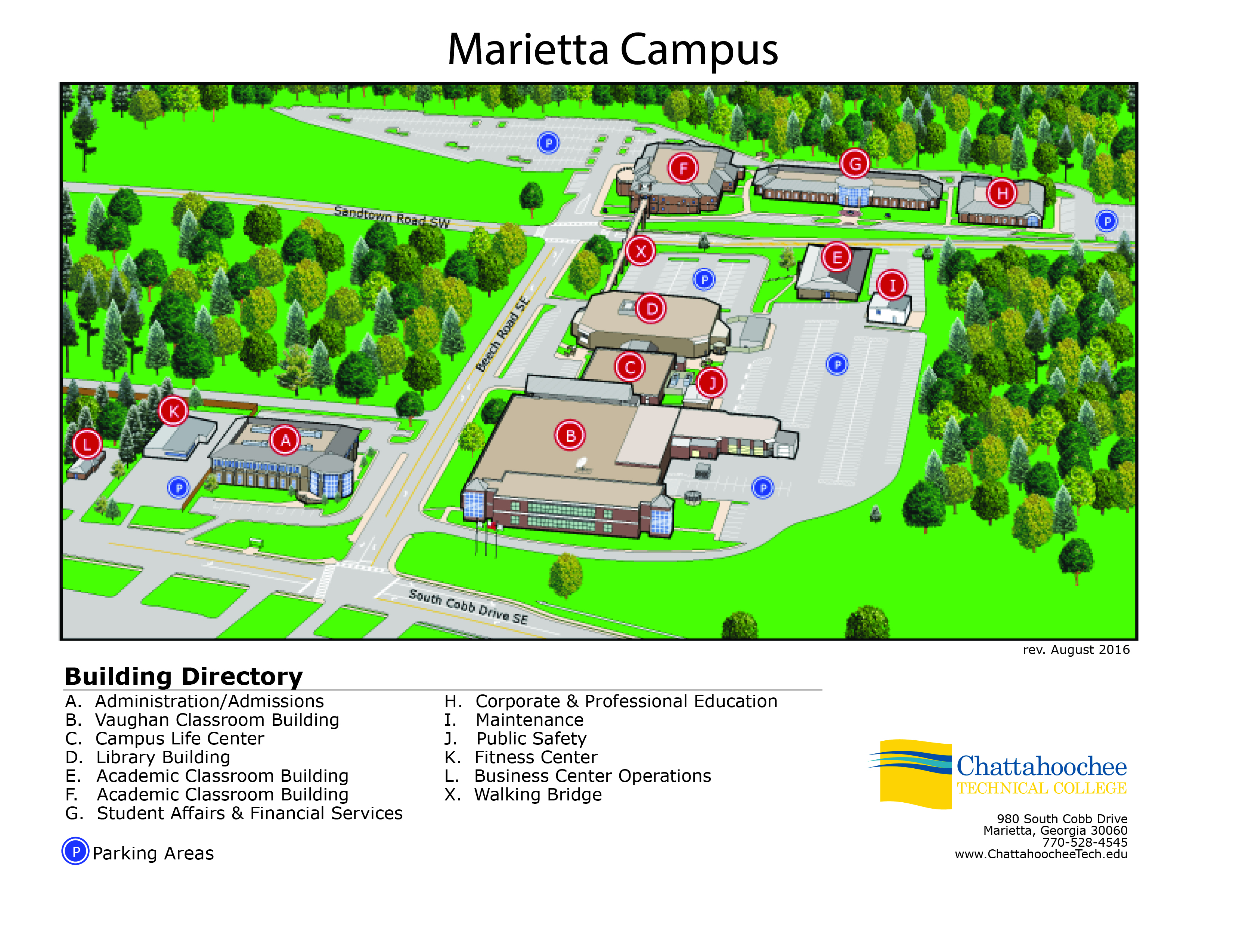 chattahoochee tech marietta campus map Smatcoe Summer Math Enrichment Chattahoochee Tech chattahoochee tech marietta campus map